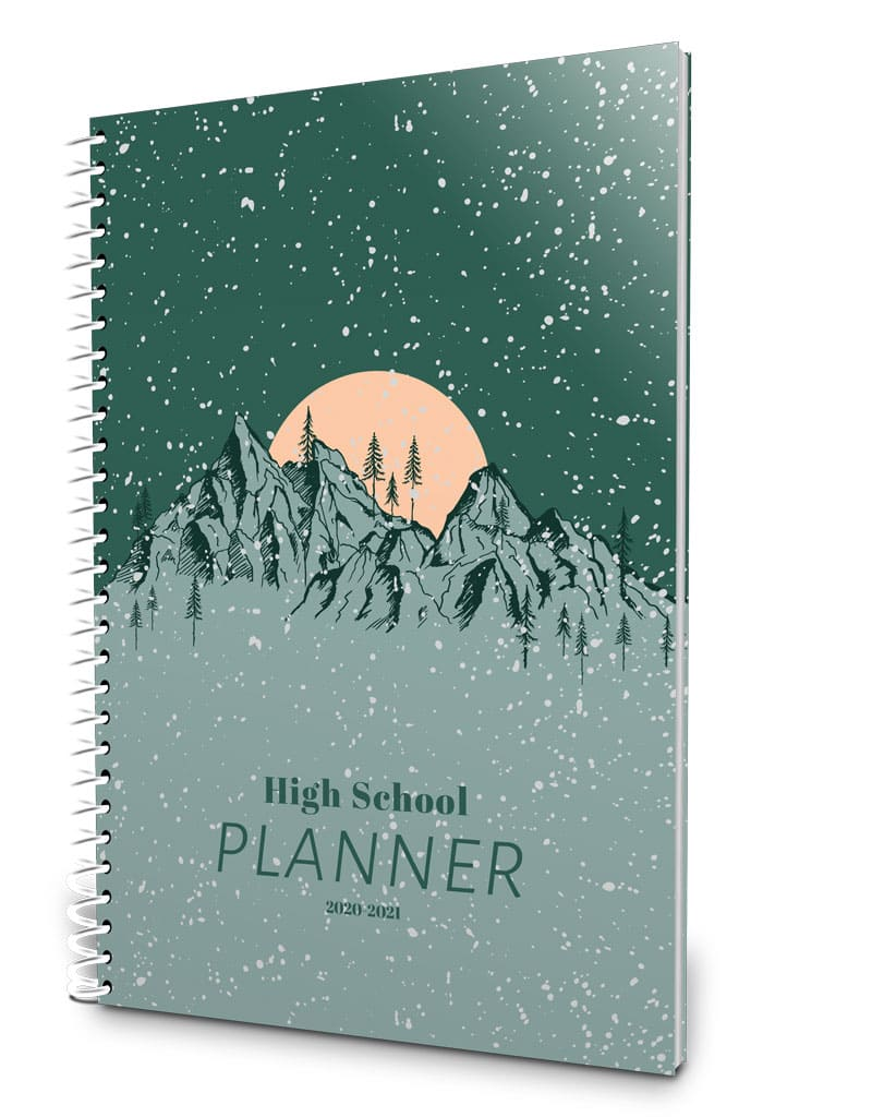 Fun 2019-2020 high school planner